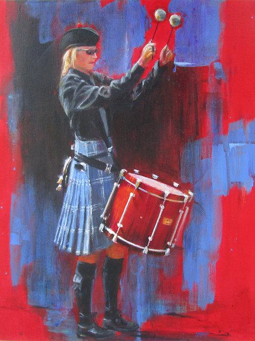 """Tenor Girl"" - Original Painting"