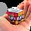 Thumbnail: RUBIK'S CUBE 3X3 KEY CHAIN 34mm
