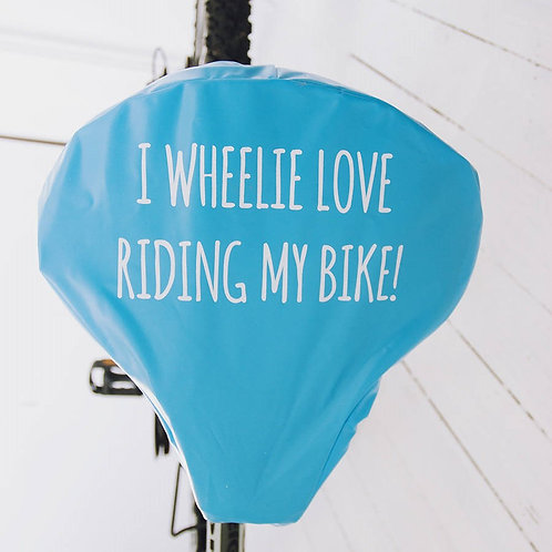 BIKE SEAT COVER- ONE COLOUR PRINT