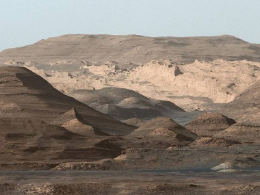 The rover Esperence landed on Mars
