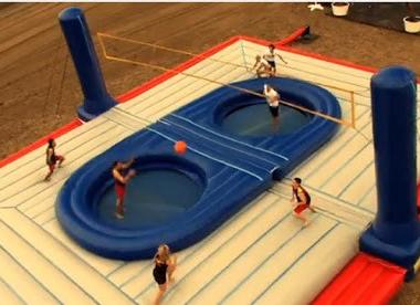 Bossaball : a very bouncy sport