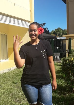 Poenaiki Millard, candidate 4 élection Miss Gauguin