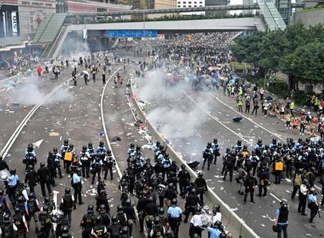 Is democracy falling in Hong Kong?