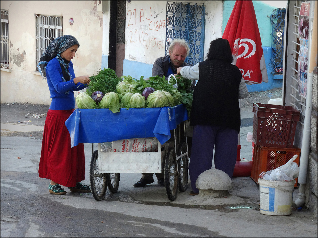 GROUP 1 15 TURKISH VEGETABLE SELLER by Brian Whiston