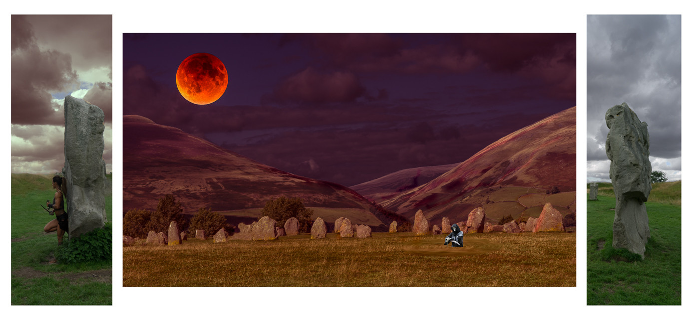 BLOOD MOON RISING by Jeremy Stock