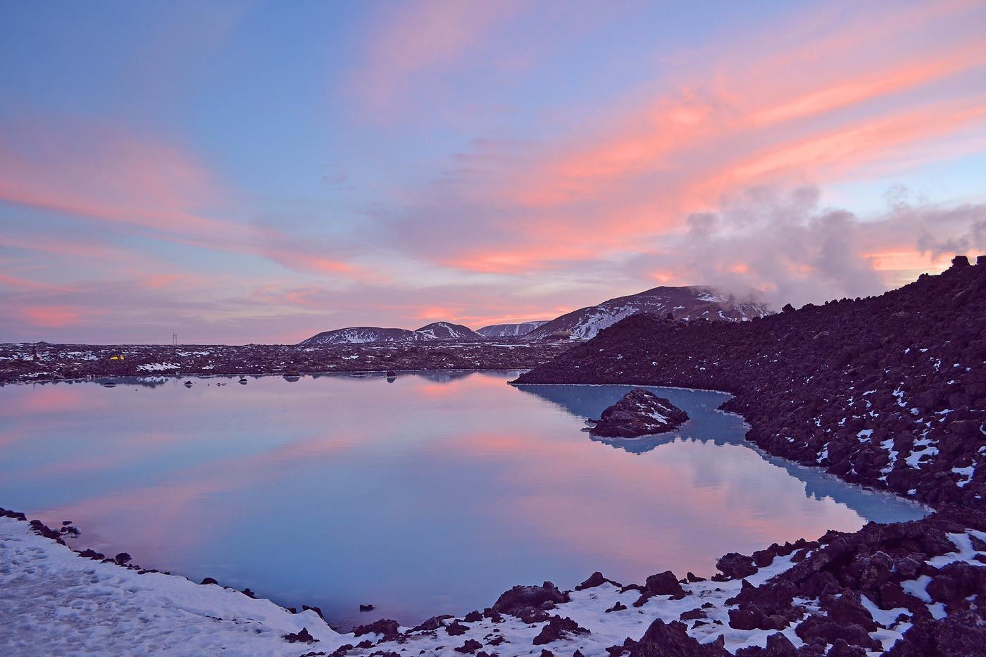 17 DAWN AT THE BLUE LAGOON ICELAND by Helen Mossman