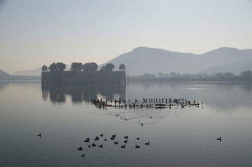 17 WATER PALACE JAIPUR by Geoff Wheddon