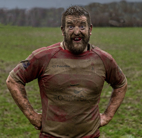 HAPPY MUDDY PROP by Denys Clarke