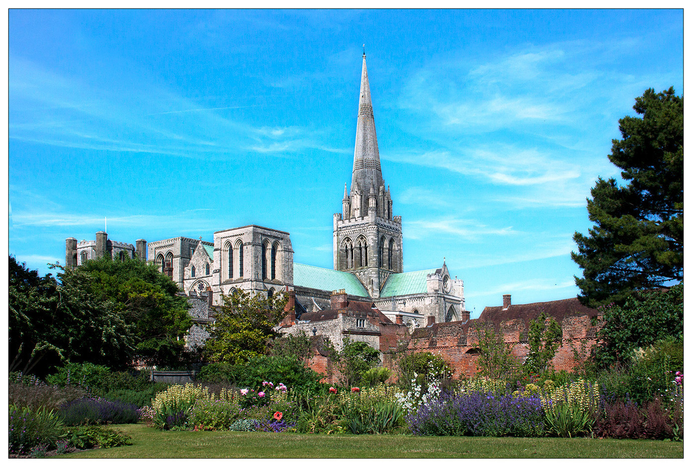 CATHEDRAL GARDEN by Mike Hart