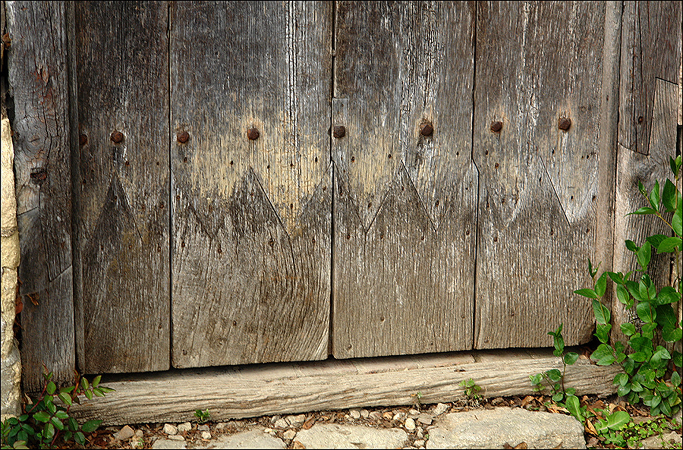 17 EXAMPLE OF SPLICING ON OLD DOOR and FRAME by Brian Whiston