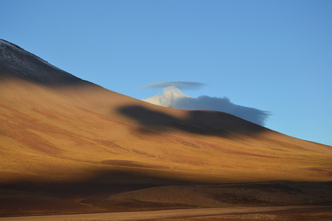 ANDES LANDSCAPE by Helen Mossman