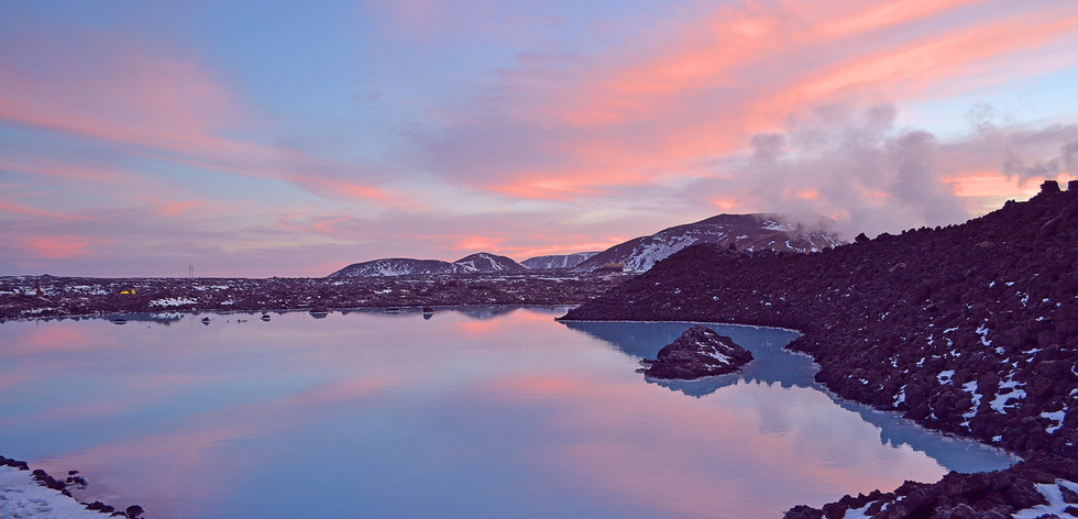BLUE LAGOON ICELAND by Helen Mossman