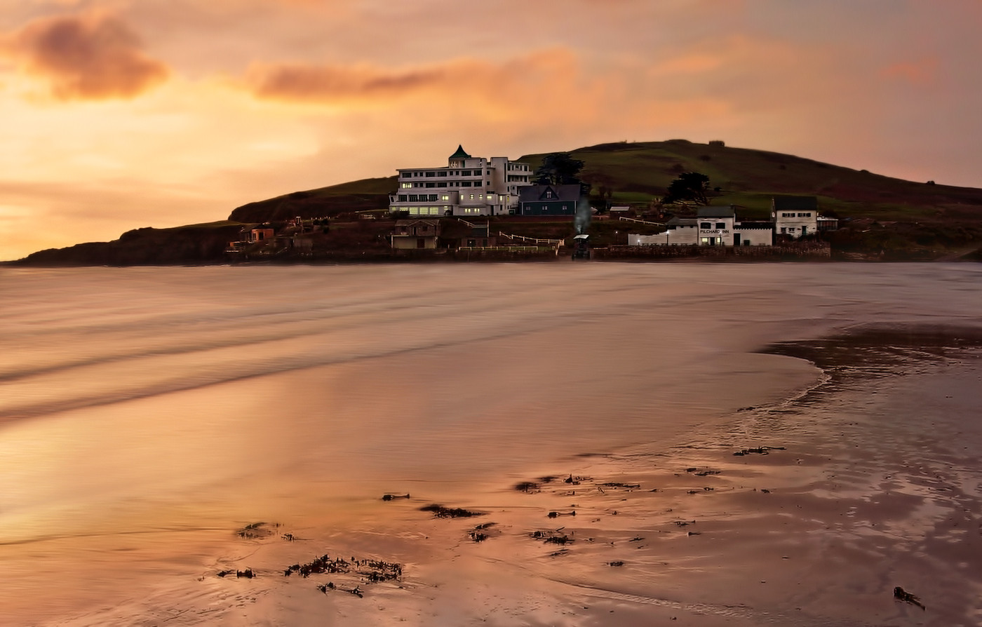 17 WINTER SUNRISE BURGH ISLAND by Pam Sherren