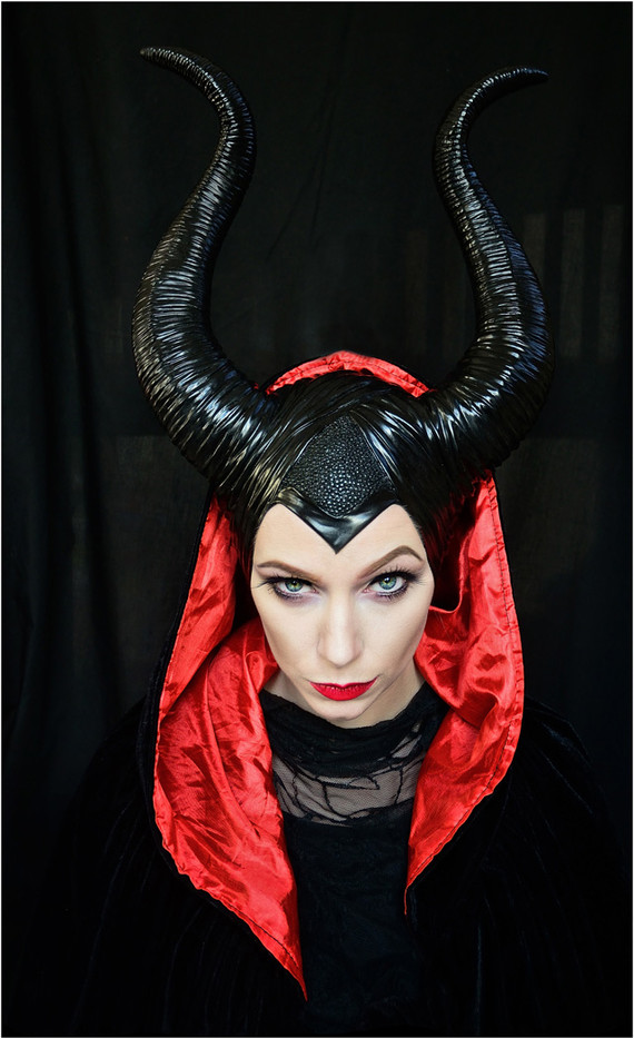 18 PORTRAIT OF MALEFICENT by Annik Pauwels