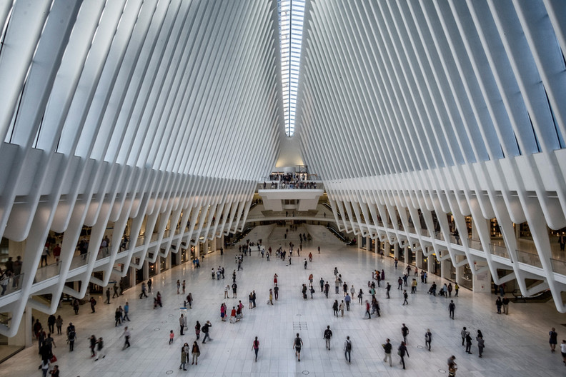 18 THE OCULUS AT THE WORLD TRADE CENTRE by Colin Smith