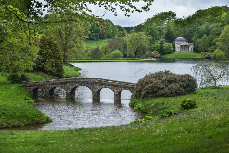 16 AFTER THE RAIN, STOURHEAD by Carole Lewis