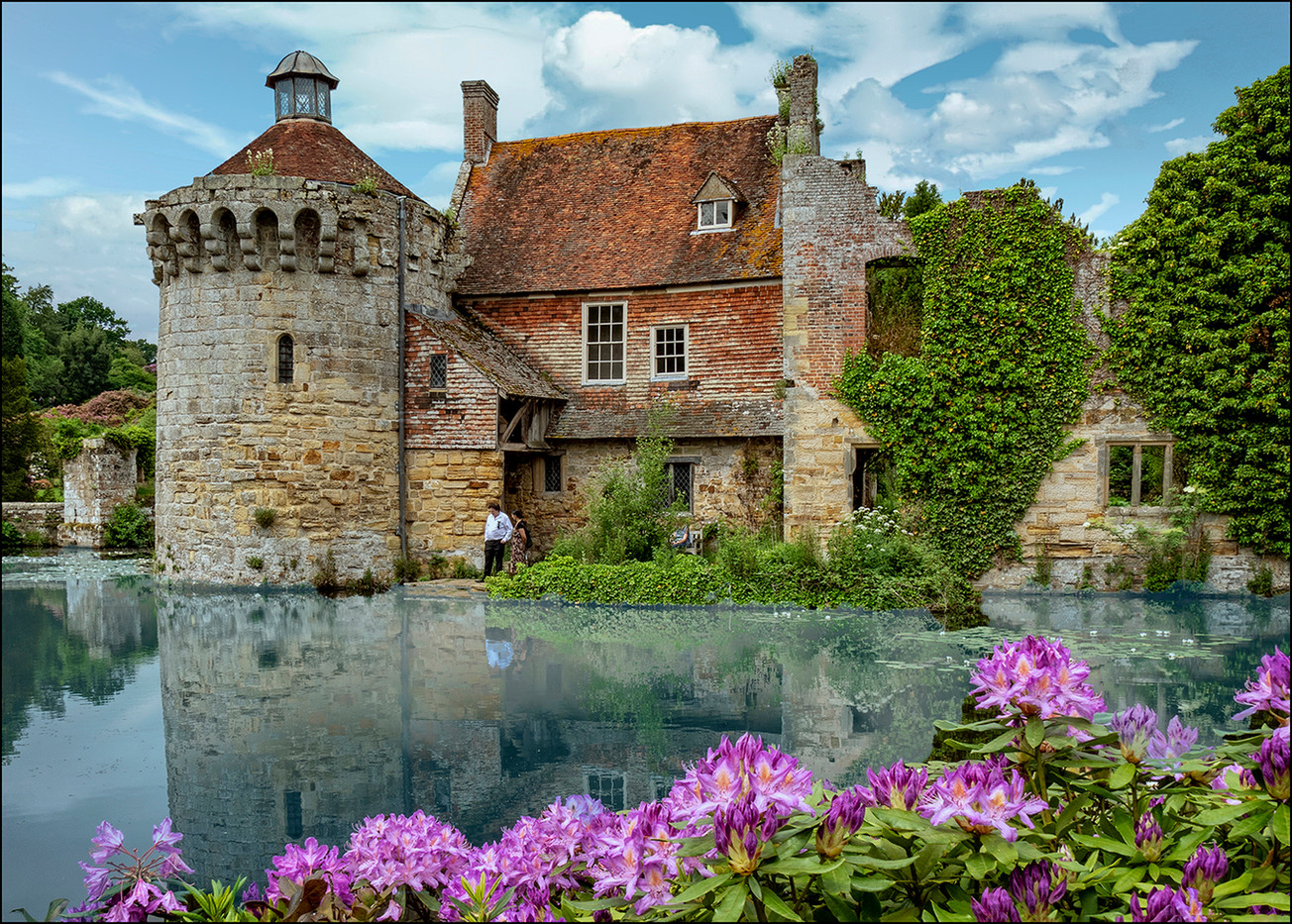 18 LATE SPRING SCOTNEY CASTLE by Graham Bunyan