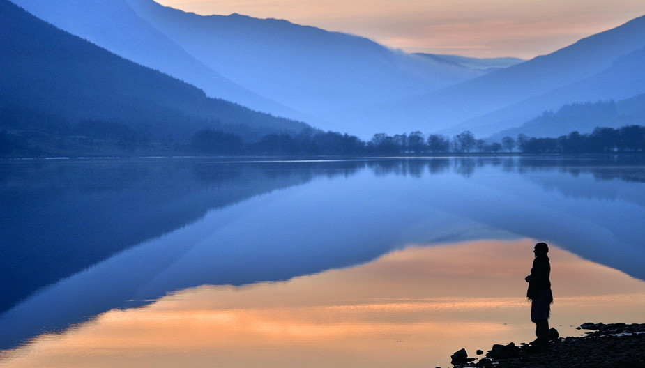 18 LATE AT LOCH VOIL by Peter Tulloch