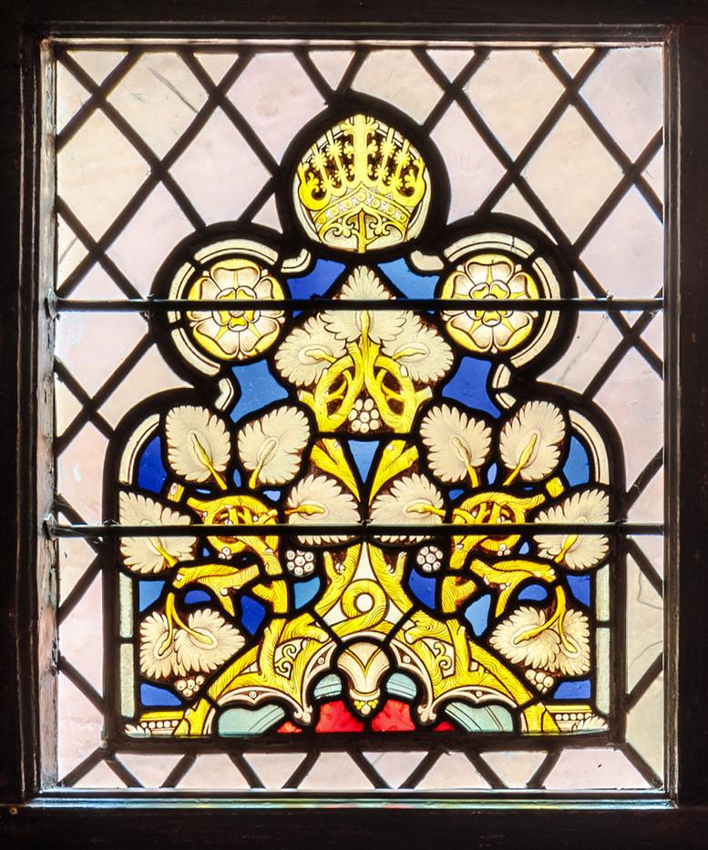17 STAIRCASE HALL WINDOW by David Godfrey