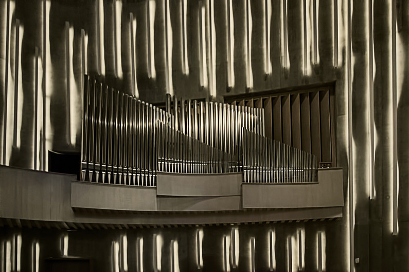 20 NORTHERN LIGHTS CATHEDRAL ORGAN by Pam Sherren