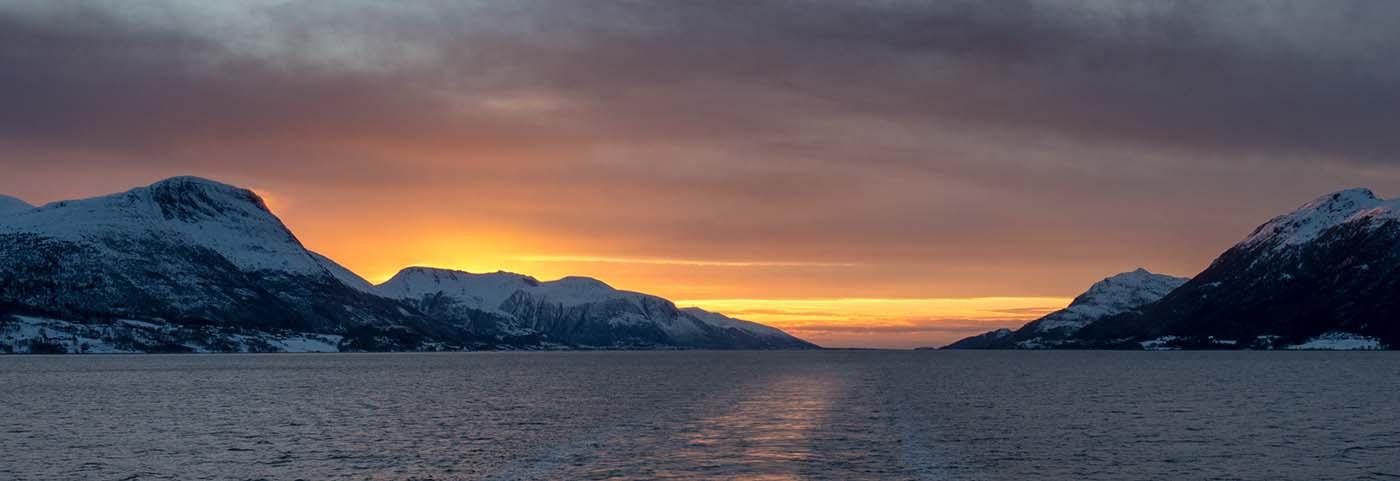 17 NORWEGIAN SUNSET by David Parkinson