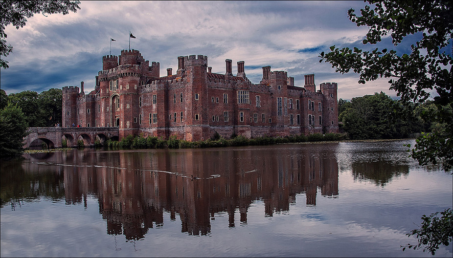 GROUP 1 17 HERSTMONCEUX CASTLE by Grahaham Bunyan