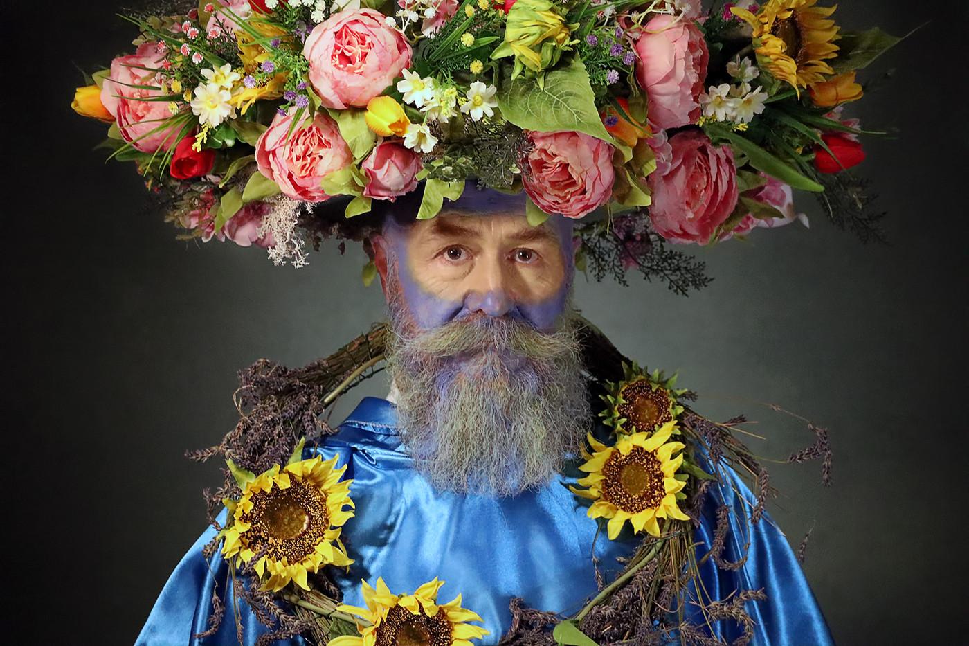 17 FLOWER POWER by Pam Sherren