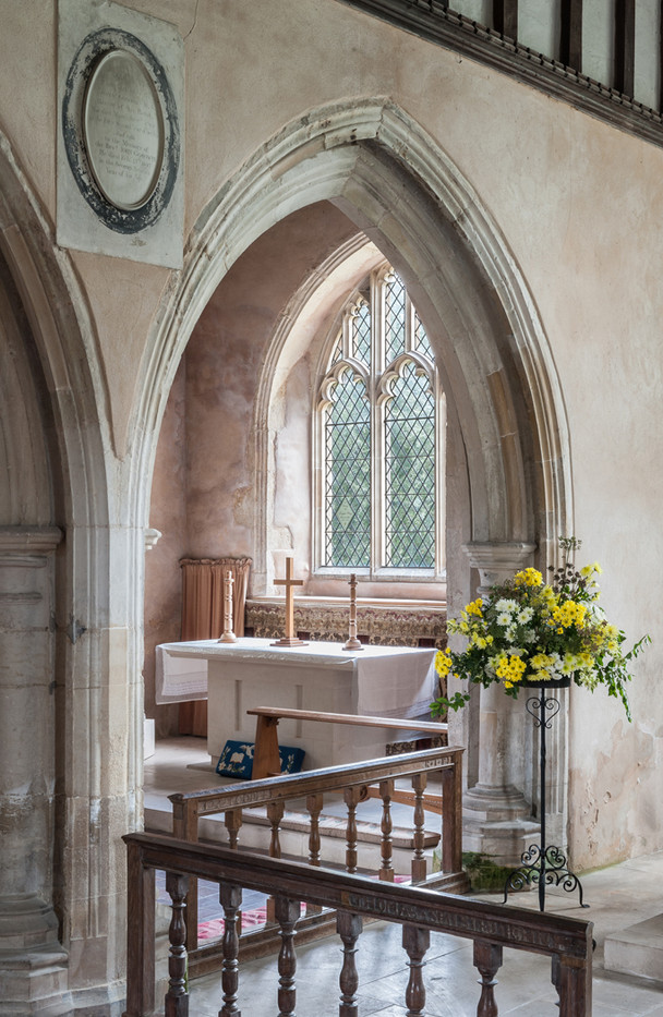 19 ALL SAINTS CHURCH IDEN A VIEW TO THE NORTH CHAPEL by Chris Rigby
