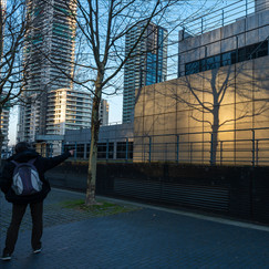 15 REFLECTIONS FROM CANARY WHARF by Steve Oakes