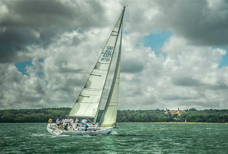 17 HEADING FOR COWES by Sonia Peek
