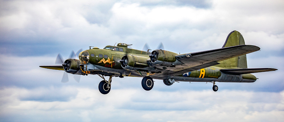 19 SALLY B TAKES TO THE AIR by Philip Easom