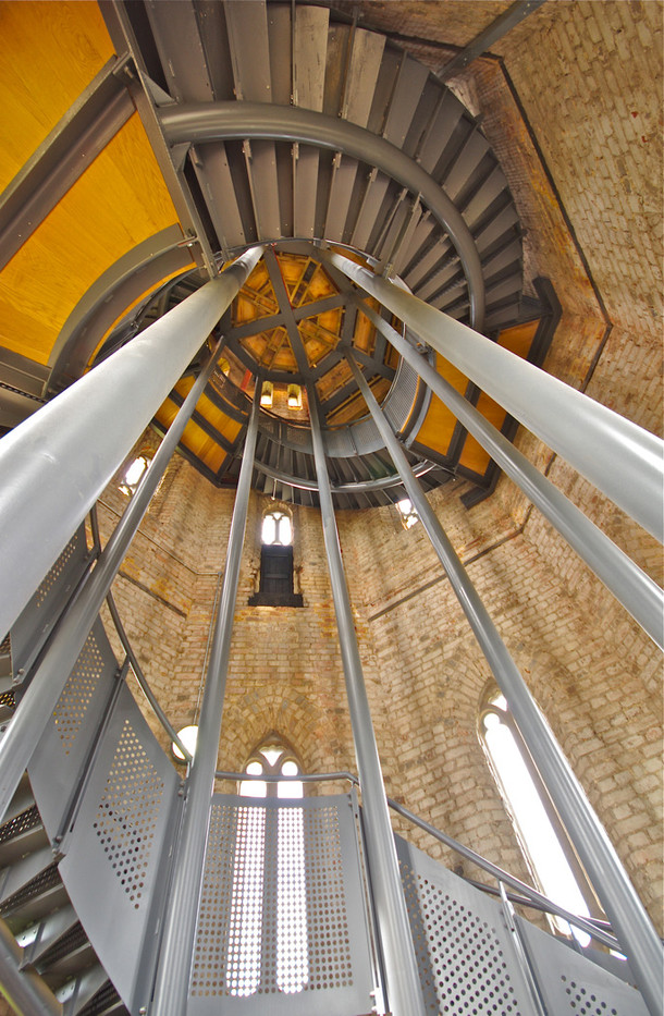 16 INTERIOR HADLOW TOWER by Ron Gaisford