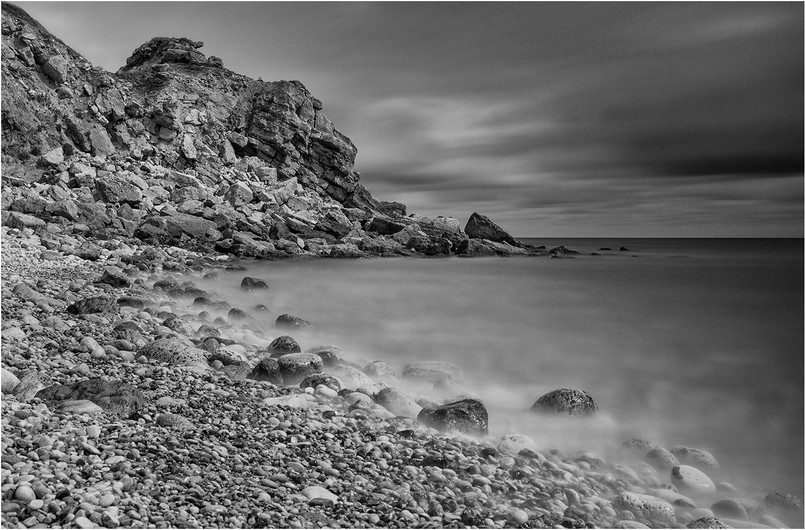 17 HARD ROCKS AND SOFT SURROUNDINGS by Colin Burgess