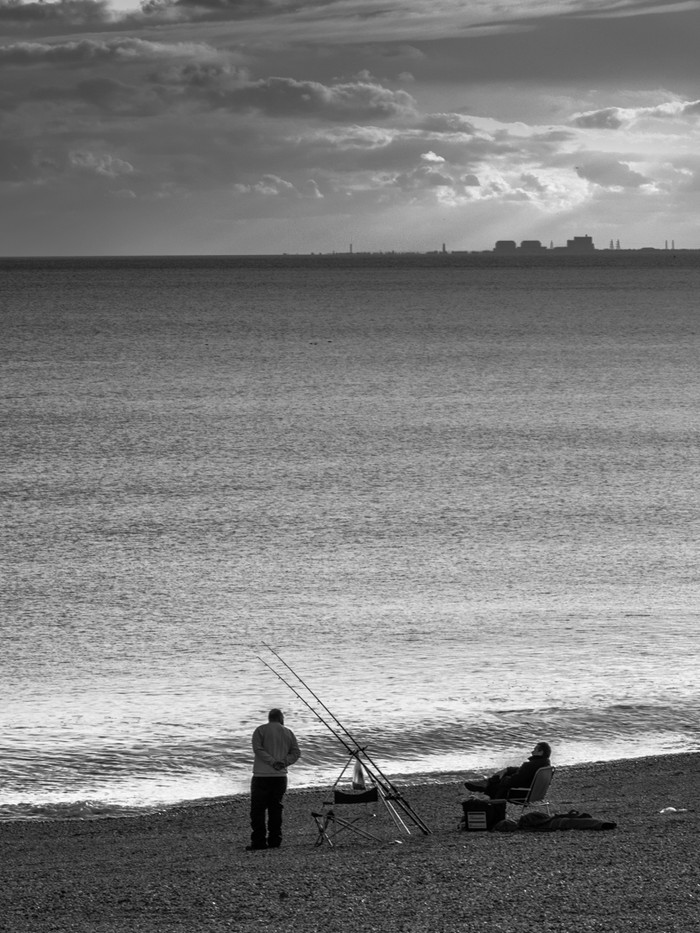 17 FISHING UNDER NUCLEAR SKIES by Terry Day
