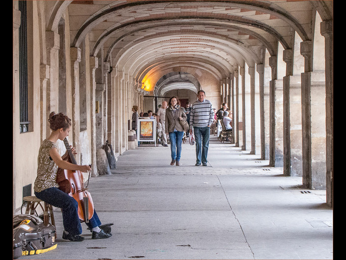 16 MUSIC IN THE CLOISTERS by Cathie Agates
