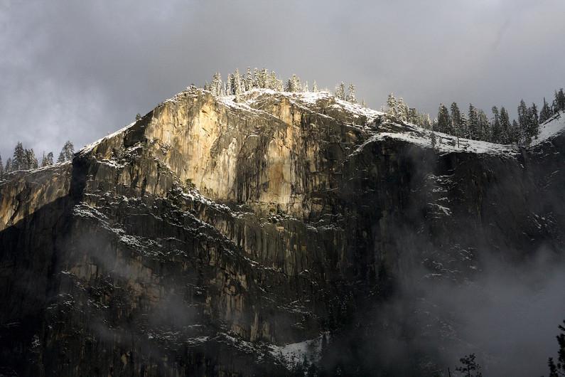19 SNOW STORM YOSEMITE by Sue Pennicott