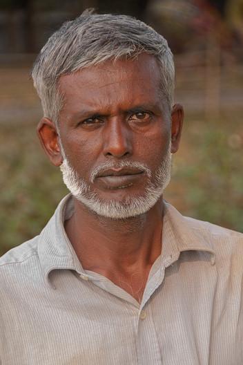 17 SYED ALAM, COTTON FARMER BANGLADESH by Alan Cork