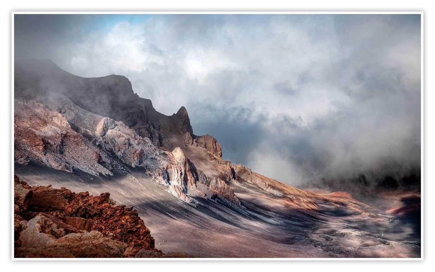 18 HALEAKALA VOLCANO MAUI HAWAII by Dave Brooker
