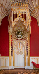 19 STRAWBERRY HILL HOUSE LONG GALLERY DOOR DETAIL by Phiip Easom