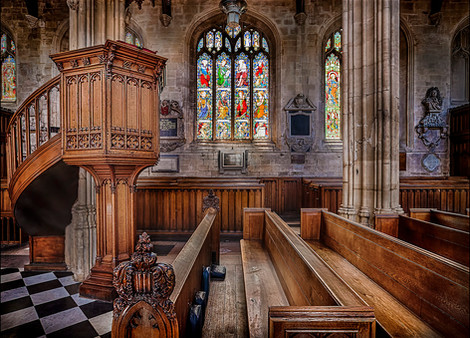ST MARY'S COLLEGE CHURCH OXFORD by Mick Dudley