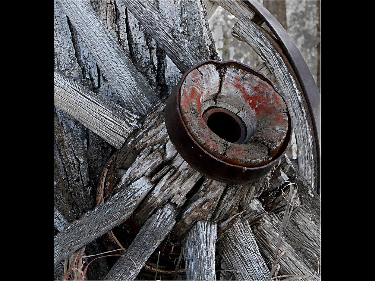 16 WAGON WHEEL by Cathie Agates