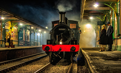 16 THE NIGHT TRAIN by Steve Oakes.