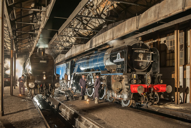 17 THE ENGINE SHED by Chris Rigby