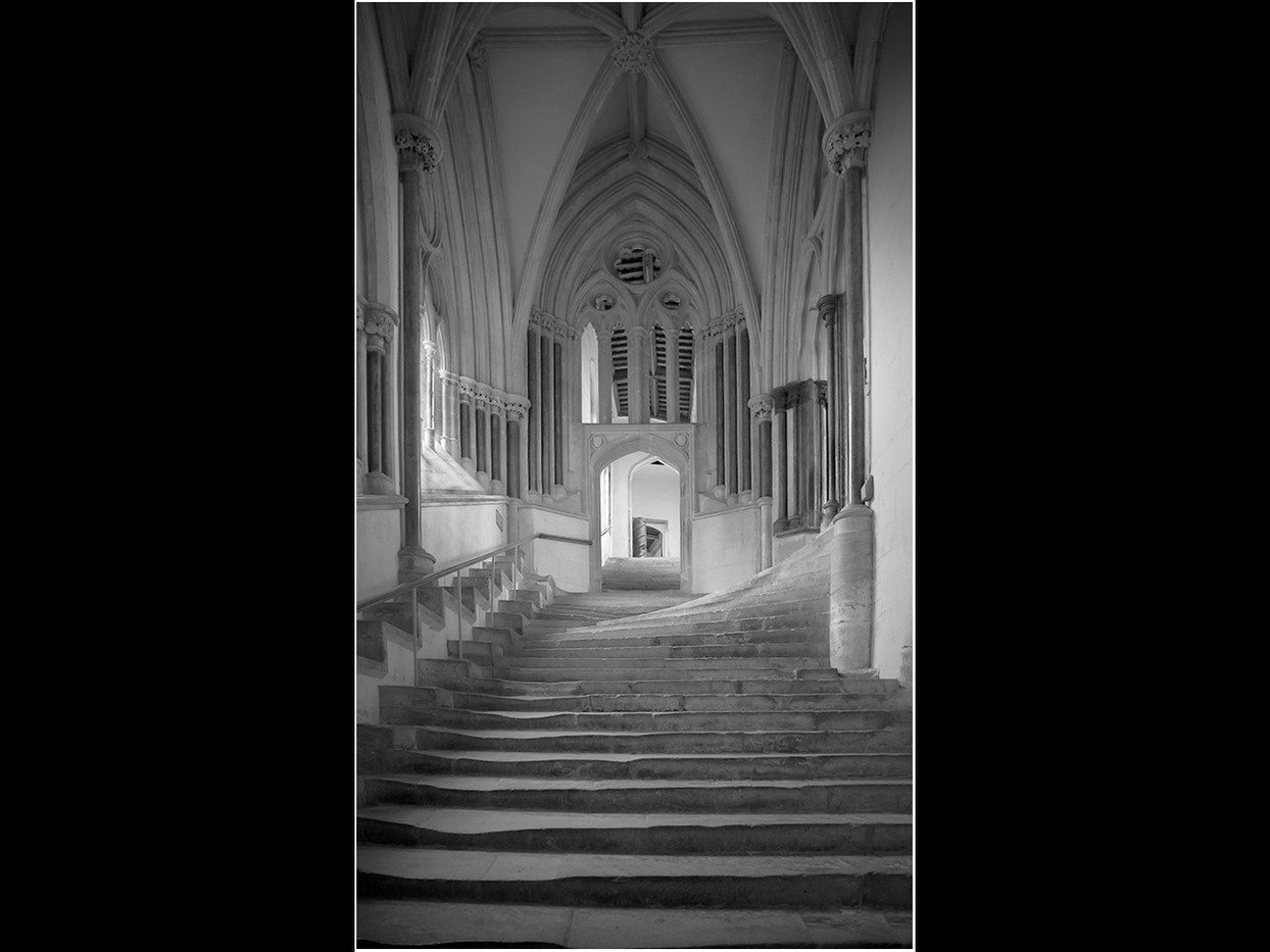 14 STEPS TO THE CHAPTER HOUSE by David Parkinson