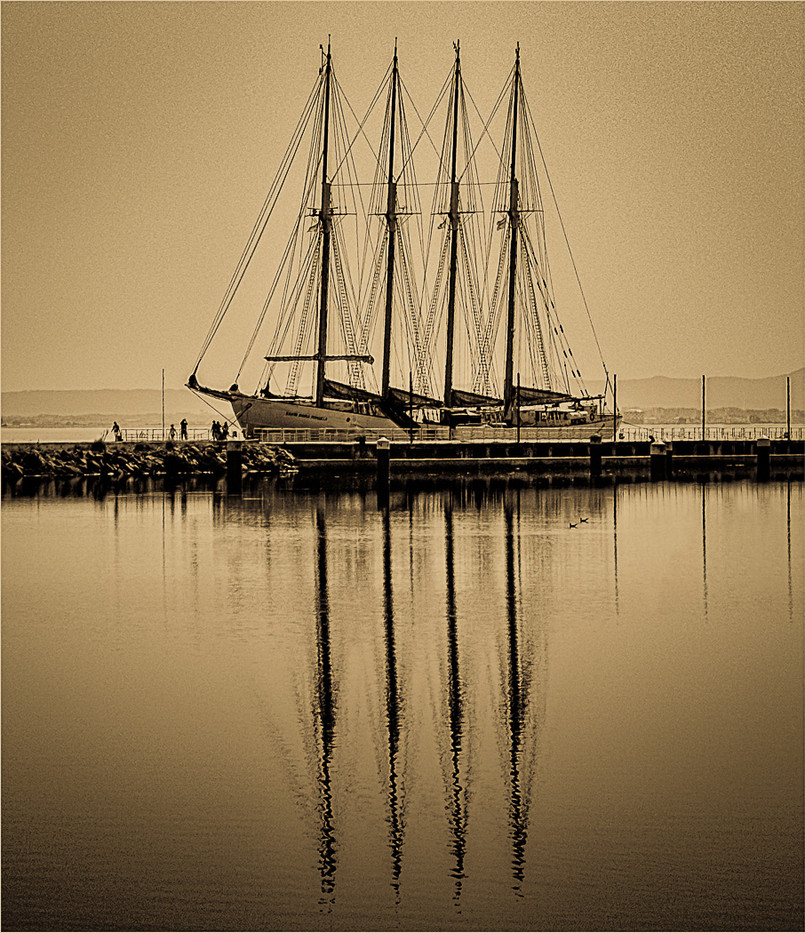17 REFLECTION OF ANOTHER AGE by Colin Hurley