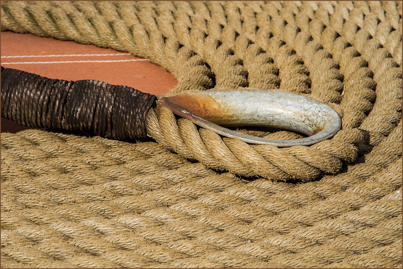 18 COILED ROPE by Cathie Agates