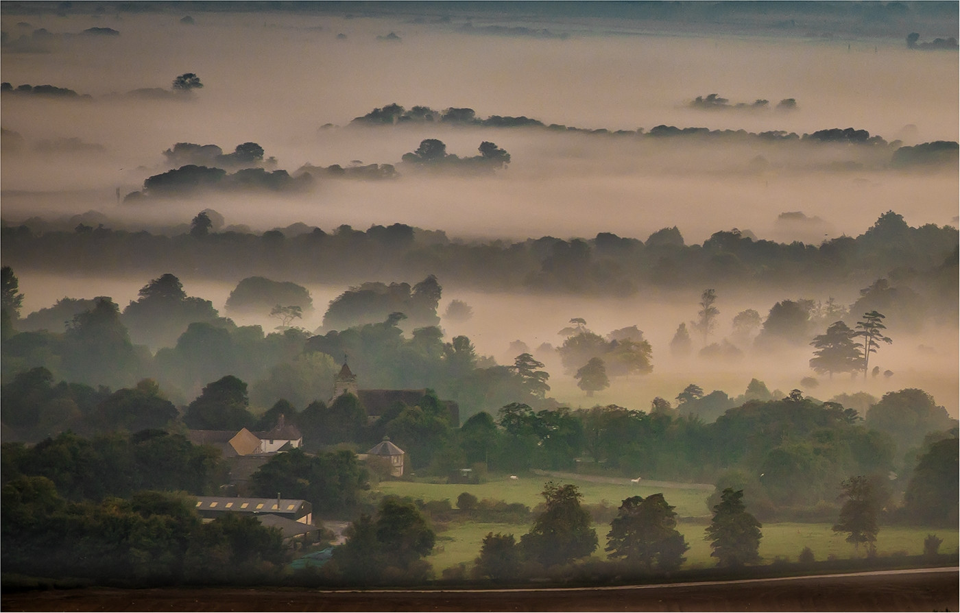 19 DAWN MIST OVER FIRLE by Sonia Peek