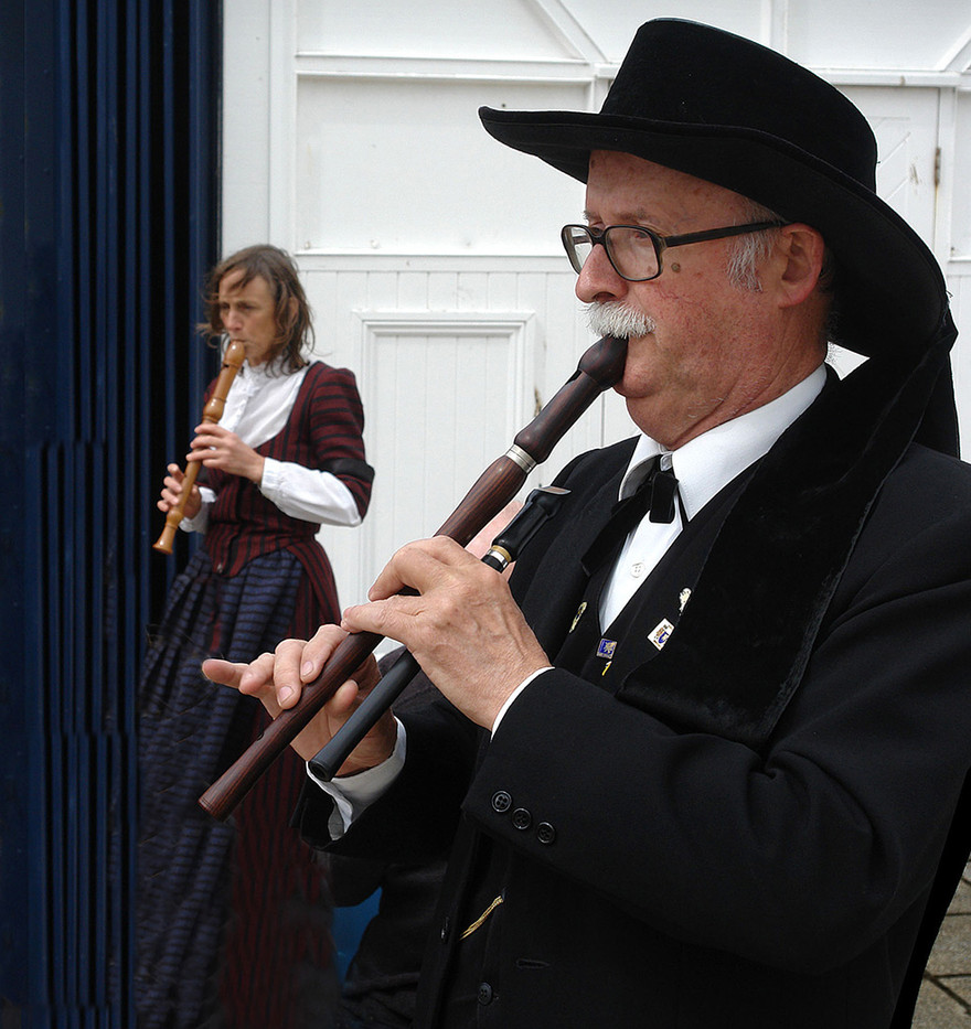 GROUP 1 15 BRETON RECORDER MAN by Brian Whiston