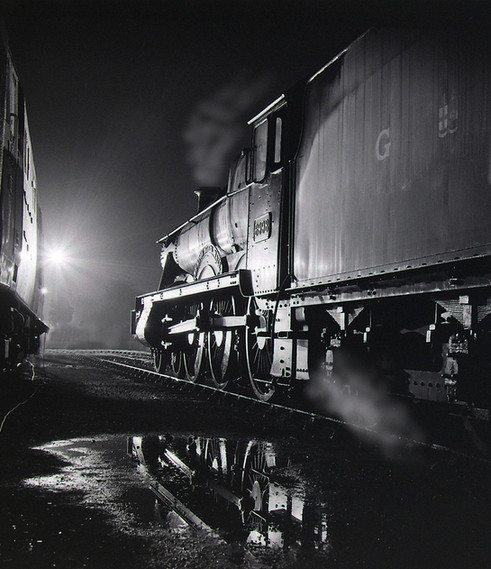 STEAM NOCTURNE by Keith Evans