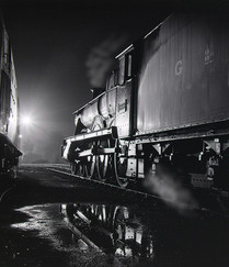 15 STEAM NOCTURNE by Keith Evans
